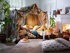 Creative Diy Bohemian Style Home Decor Ideas 39 1 Bohemian Style Home, Bohemian Decor, Boho Chic, Bohemian Kids, Bohemian Gypsy, My New Room, My Room, Interior Flat, Indoor Tents
