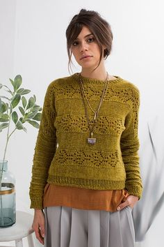 Moonflower Dolman Knitting Pattern Download