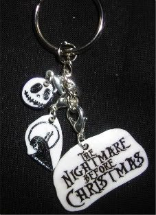 Nightmare Before Christmas keychain