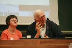 Jean Vanier en terre alsacienne, à l'invitation du Projet de L'Arche à Strasbourg   L'Arche en France #larche #jeanvanier #handicap