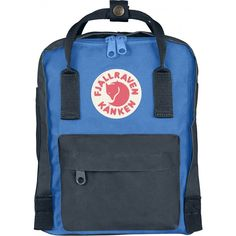 Fjällräven Kånken Mini Backpack | Graphite / UN Blue