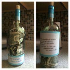 College Graduation gift idea for a best friend!