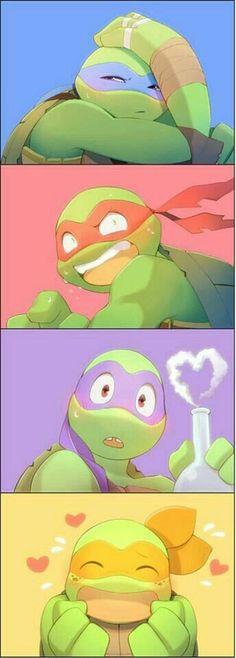 Read 1 from the story tmnt imágenes (Yaoi) by (matsuno ichimatsu) with reads. Tmnt 2012, Ninja Turtles Art, Teenage Mutant Ninja Turtles, Tmnt Comics, Fanart, Childhood, Wattpad, Kawaii, Disney
