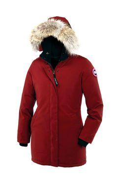 283809f9d2a Canada Goose | Red Victoria Parka | Lyst Módní Trendy, Módní Blogeři, Móda  Pro