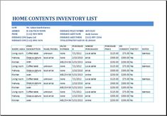 Convenience Store Inventory List Template At HttpWww
