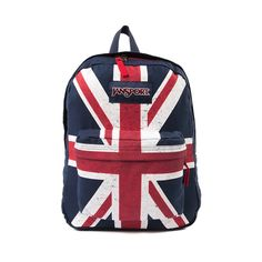 Shop for JanSport Union Jack Super FX Backpack in Multi at Journeys Shoes. Shop today for the hottest brands in mens shoes and womens shoes at Journeys.com.The Jansport Super FX backpack is made from premium fabric for a unique textured surface. Features UK Union Jack graphic exterior; includes one large compartment, a front utility pocket, and a decorated back panel for cushioning.Dimensions  L 13 x W 8.5 x H 16.7