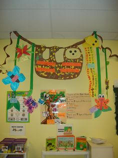 The Great Kapok Tree crafts | Children worked in small groups to create rainforest animals and fact ...