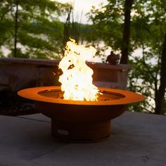 Saturn Gas Outdoor Fire Pit   WoodlandDirect.com: Outdoor Fireplaces: Fire Pits - Gas, Fire Pit Art #LearnShopEnjoy