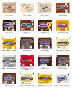 Snickers candy wrappers, perfect for resizing for miniatures: