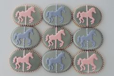 Carousel cookies by Miss Biscuit | Flickr - Photo Sharing!