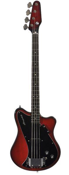 AMPEG SSB Bass Red Burst 1968 Chicago Music Exchange