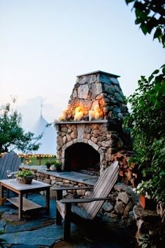 The Charm of a Backyard Firepit