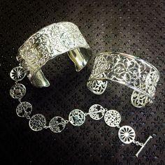 Some of our favorite sterling bracelets