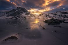 Ercina - Amanece en los lagos de Covadonga