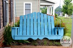 How To Alter Regular Porch Swing Plans For A Unique Porch Swing