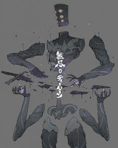 The Titan of Infinite sword, Ching Yeh on ArtStation at https://www.artstation.com/artwork/0vzwY