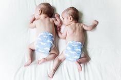 Twins got checked up again today; they're getting bigger & bigger & kicking stronger than ever!