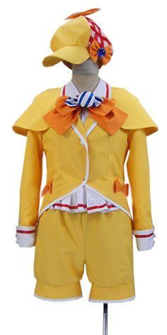 Onecos Anime Tantei Opera Milky Holmes Yuzurusaki Nero Cosplay Costume * Check out this great product.