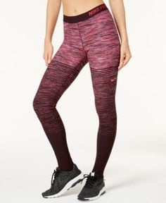 76260f3f1e99d Nike Pro HyperWarm Fleece-Lined Stirrup Leggings & Reviews - Pants & Capris  - Women - Macy's
