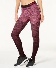 ee05fca1df669 Nike Pro HyperWarm Fleece-Lined Stirrup Leggings & Reviews - Pants & Capris  - Women - Macy's