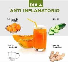 Healthy Juice Recipes, Healthy Detox, Healthy Juices, Healthy Drinks, Smoothie Recipes, Smoothies, Healthy Eating, Detox Juice Cleanse, Tazo