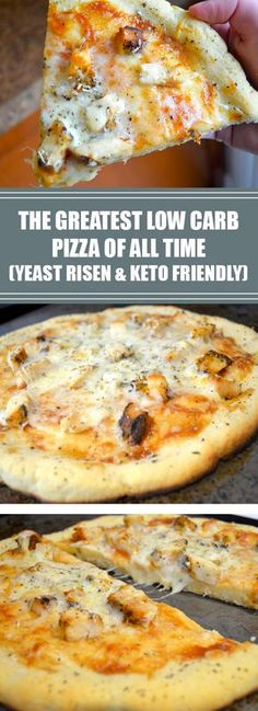 Weight Loss Plans Food The Greatest Low Carb Pizza Of All Time (Yeast-Risen & Keto Friendly) - healthyrecipes.Weight Loss Plans Food The Greatest Low Carb Pizza Of All Time (Yeast-Risen & Keto Friendly) - healthyrecipes. Ketogenic Recipes, Diet Recipes, Healthy Recipes, Ketogenic Diet, Recipies, Best Low Carb Recipes, Easy Recipes, Soup Recipes, Chicken Recipes