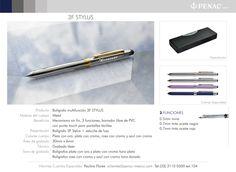 Promocionales Corporativos 3F Stylus