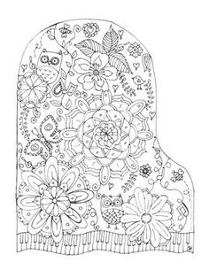 Coloring page Music - coloring picture Music. Free coloring sheets ...