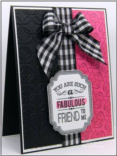 My Friend by LuvLee - Cards and Paper Crafts at Splitcoaststampers