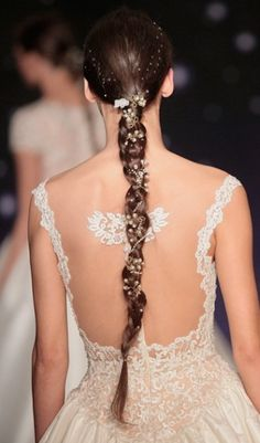Definitely not your school girl braid.