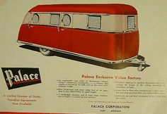calendar Vintage travel trailers
