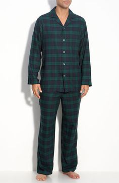 Nordstrom '824' Flannel Pajamas | Nordstrom...LOVE THESE!  Men's pajamas are the best
