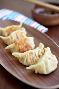 Kimchi Dumplings by rasamalayasia #Dumplings #KImchi