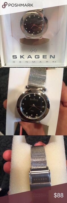 Selling this Skagen watch on Poshmark! My username is: lmarhall. #shopmycloset #poshmark #fashion #shopping #style #forsale #Skagen #Accessories