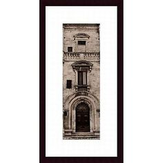 Alan Blaustein 'La Porta Via, Montepulciano' Framed Art Print