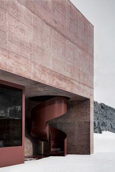 Feuerwehrhalle Vierschach, Pedevilla Architects - Atlas of Places