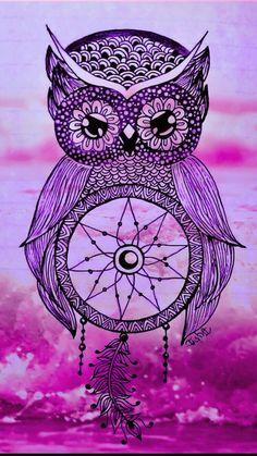 Dreamcatcher Wallpaper, Owl Wallpaper, Butterfly Wallpaper, Wallpaper Iphone Disney, Cute Wallpaper Backgrounds, Animal Wallpaper, Cellphone Wallpaper, Galaxy Wallpaper, Cute Wallpapers