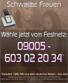 Telefonsex schwarze Frauen