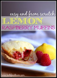 No matter the season, this little muffins are a bit of sunshine. Easy and from scratch, this lemon raspberry muffin recipe is made with ingredients in your pantry and can be done in under 25 minutes. Easy way to get your dose of sunshine.
