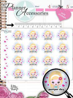 Sticker - Beauty Time Sticker NR977 - ein Designerstück von PlannerAccessories bei DaWanda