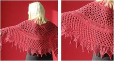 The Hole Story knitted lace shawl is guaranteed to make any outfit chic and stylish. Make one for yourself or give as a gift! Get the FREE ...