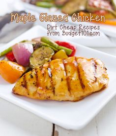 Budget101 Maple Glazed Chicken- Dirt Cheap Dinner under $5