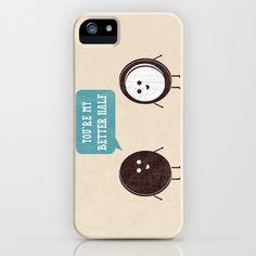 Better Half iPhone Case by Teo Zirinis - $35.00