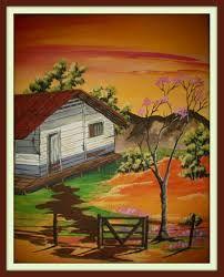 pinturas de paisajes tipicos de costa rica - Buscar con Google