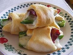 Western Rollups! bacon, mozzarella, jalapenos, cresent rolls! great party food!