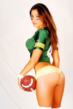 packer pictures   The Hottest WAGs, Fans and Cheerleaders from Each NFL Team   Bleacher ...