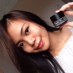 "It's time to say ""GoodNightz"" with a good cream just like @maymichelle  Heal your sensitive, redness and acne skin with this #Klairs Midnight Blue Calming Cream. Repair your skin within 8 hours at night routine iamkavieHi, dm me the price please. Thank you."