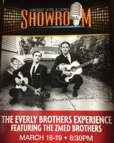 EVERLY BROTHERS TRIBUTE...THE BIRD DOGS @ SUNCOAST