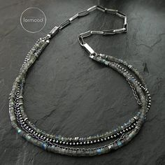 Chain 100% raw sterling silver by studioformood on Etsy