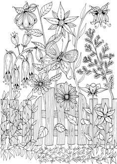 Garden Gate Doodle by WelshPixie.deviantart.com on @DeviantArt
